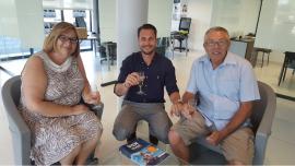 Heureux acquéreurs à florensac S'antoni immobilier agde