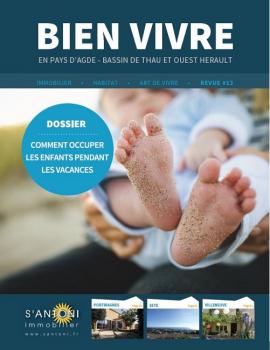 La revue bien vivre en version numérique ! S'antoni immobilier agde