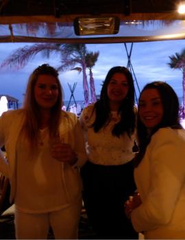Album souvenir soirée blanche au jungle beach ! S'antoni immobilier agde
