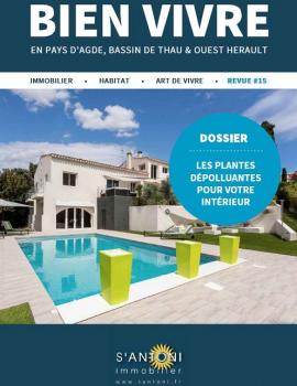 Revue bien vivre édition de l'automne / hiver 2017 S'antoni immobilier agde