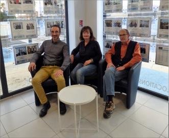 Clients satisfaits de l'agence s'antoni de marseillan S'antoni immobilier
