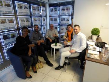 Heureux vendeurs au cap d'agde S'antoni immobilier