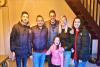 Famille heureuse de son achat au cap d'agde S'antoni immobilier cap d'agde