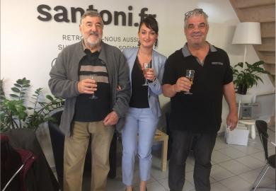 Propriétaire satisfait à villeneuve lès béziers S'antoni immobilier