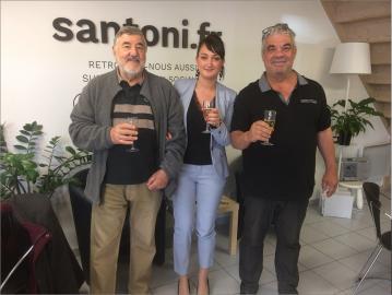 Propriétaire satisfait à villeneuve lès béziers S'antoni immobilier marseillan centre-ville