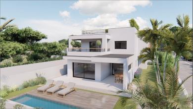 À vendre au grau d'agde, les villas maya S'antoni immobilier marseillan centre-ville