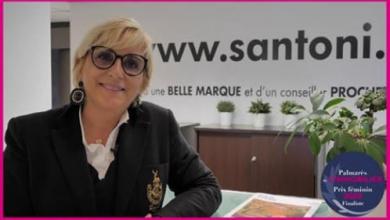 Cécile fiorentino remporte le prix féminin de l'immobilier !  S'antoni immobilier agde centre-ville