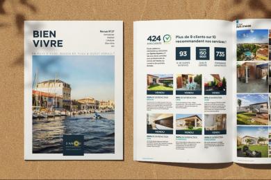 Voici notre toute dernière revue de l'année S'antoni immobilier grau d'agde