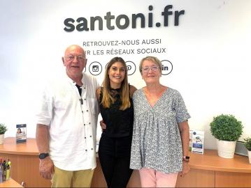 Acquéreurs satisfaits à sète S'antoni immobilier