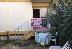 Balaruc les bains studio avec jardinet Groupe gesim