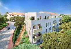 Programme immobilier neuf l'ecrin bleu (1 à 4 pièces)  à balaruc-les-bains visio Groupe gesim