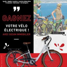 Concours : gagnez un vélo électrique Groupe gesim