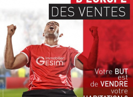 Gesim soutient les bleus pour la coupe d'europe de foot Groupe gesim