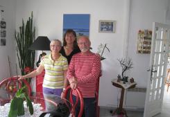 Propriétaires au centre port Serna immobilier
