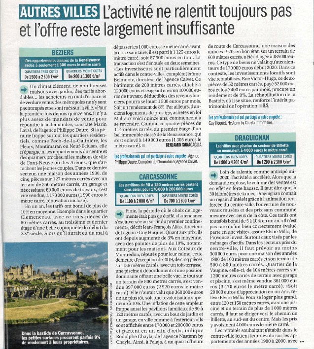 article capital immobilier