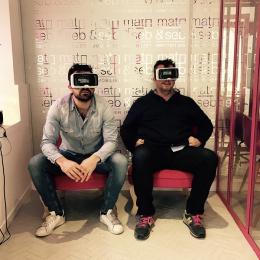 La visite virtuelle d�barque chez