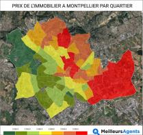 Prix de l'immobilier à montpellier: quels sont les quartiers les moins chers et  Agence jnca