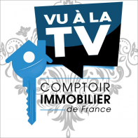 Vu a la television : comptoir immobilier de france  Comptoir immobilier du gatinais