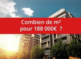 Combien de m� pour 188 000� ? Comptoir immobilier de france