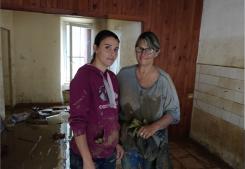Mercredi 17 octobre  aide aux sinistres de trebes G&c immobilier