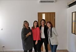 Grand nettoyage de l agence de maraussan avant ouverture G&c immobilier
