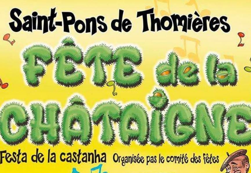 Fête de la châtaigne - saint p. de thomières et olargues octobre -novembre 2018 Eugène de graaf