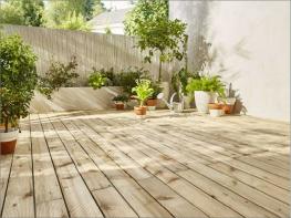 Le bois le roi de nos terrasses Ma villa sur le toit
