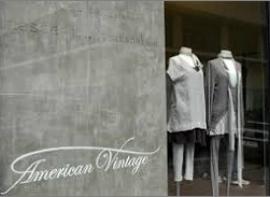 American vintage Emplacement numéro 1
