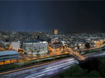 Reconversion du bâtiment « reims 2000 » en logements et en hôtel haut de gamme D2m immobilier