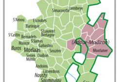 Nord est béarn : morlaàs, pontacq et lembeye sont les