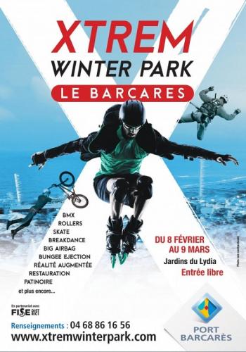 Extrem winter park Barcares immobilier