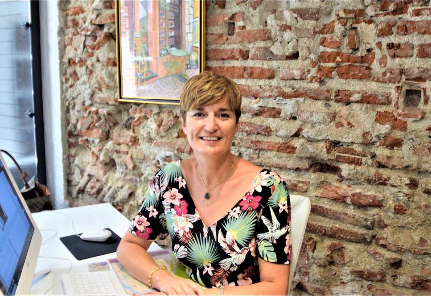 Caroline bouquier- consultante immobilière -agence perpignan - 4 rue saint jean Les professionnels de l'immobilier