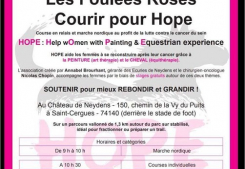 Les foulées roses, courir pour hope ! New house immobilier