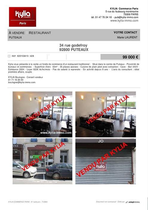 Une nouvelle affaire vendue par kylia boulogne Kylia immobilier