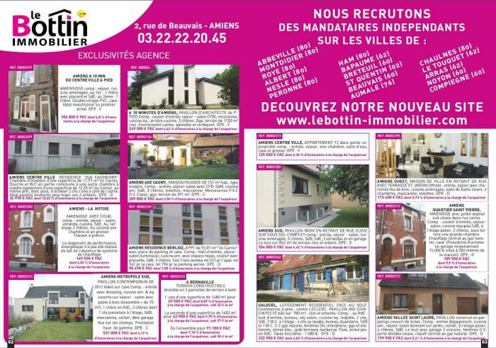 Double page immo 80 de septembre Le bottin immobilier