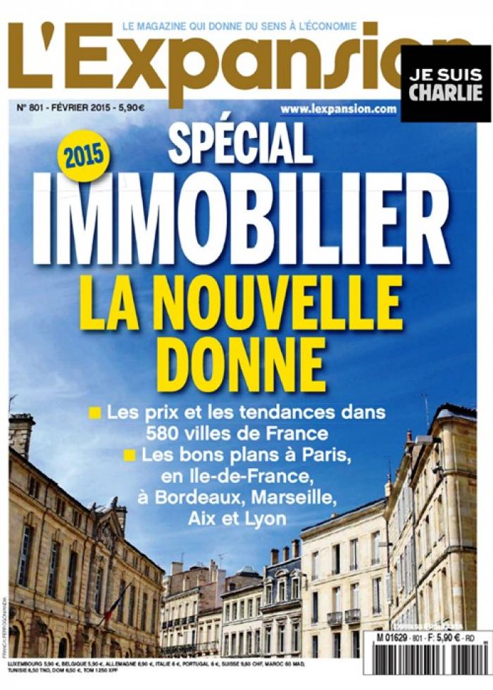 Magazine l'expansion dossier special immobilier Le bottin immobilier
