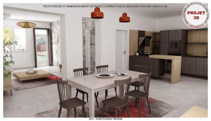 Nouveau projet de home staging virtuel en 3d Le bottin immobilier