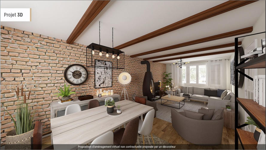 Home staging virtuel maison metropole est  Le bottin immobilier