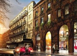 À toulouse, un ancien cinéma va bientôt devenir un hôtel mama shelter L'agencerie