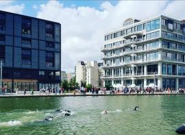 Pantin : ils nagent dans le canal de l'ourcq Grand paris immo transaction