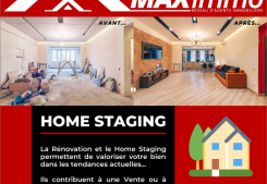 Home staging Maximmo cg transaction