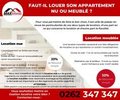 Faut-il louer son appartement nu ou meuble ? Maximmo cg transaction