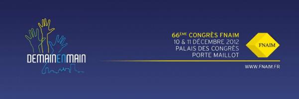 Adapt immo présent au 66 ème congrès de la fnaim – paris Adapt immo