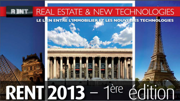 Salon paris rent 2013 : real estate & new technologies  Adapt immo