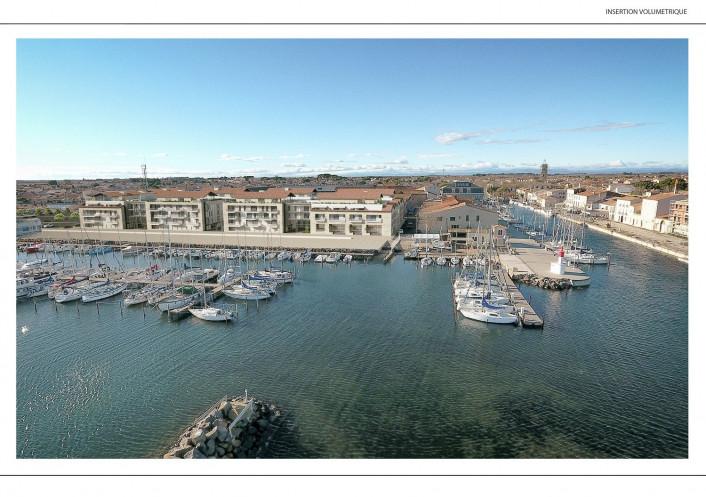 Programme neuf Marseillan Hérault 34148121 S'antoni immobilier