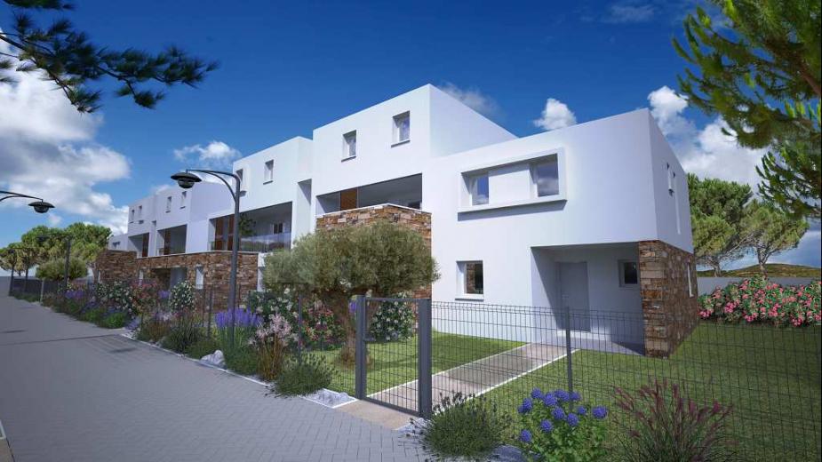 Programme neuf Frontignan Hérault 34154111 S'antoni immobilier agde