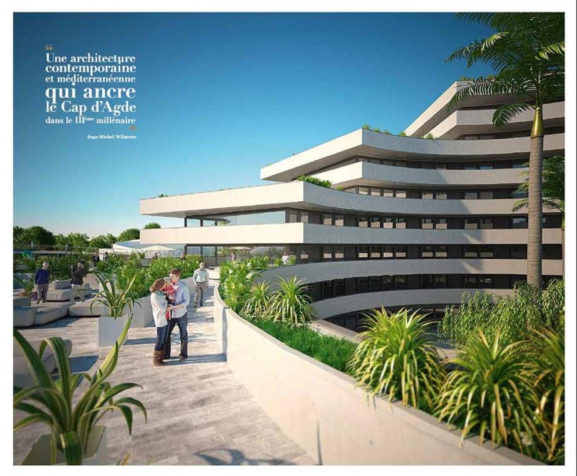 Programme neuf Le Cap D'agde Hérault 341911 Serna immobilier