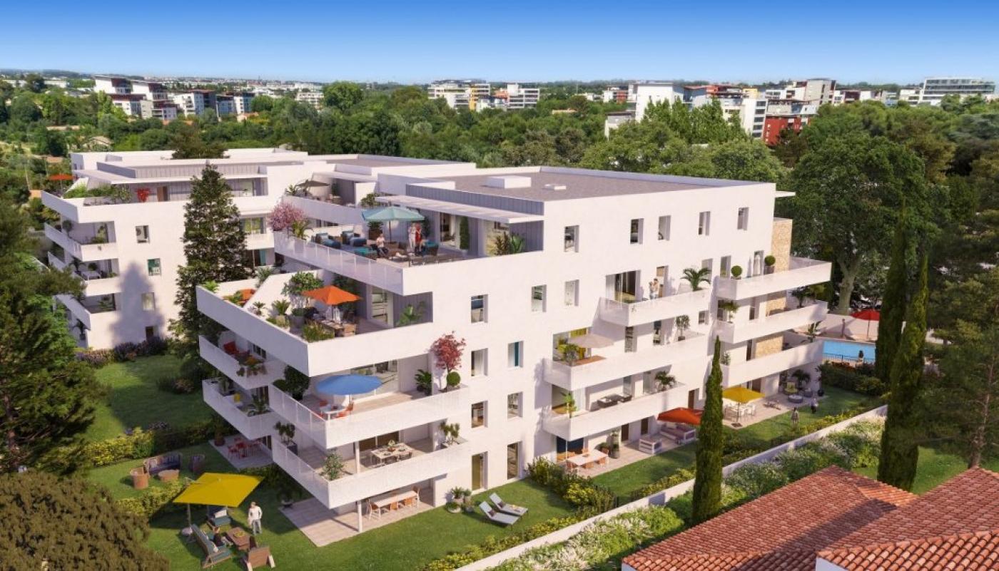 Programme neuf Montpellier Hérault 34272349 Guylene berge patrimoine