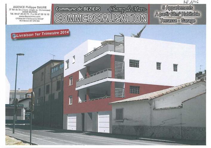 Programme neuf Beziers Hérault 3430111 Agences daure immobilier