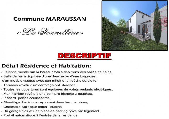 Programme neuf Maraussan Hérault 3430117 Agences daure immobilier